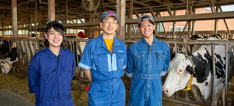学園 unipa 酪農